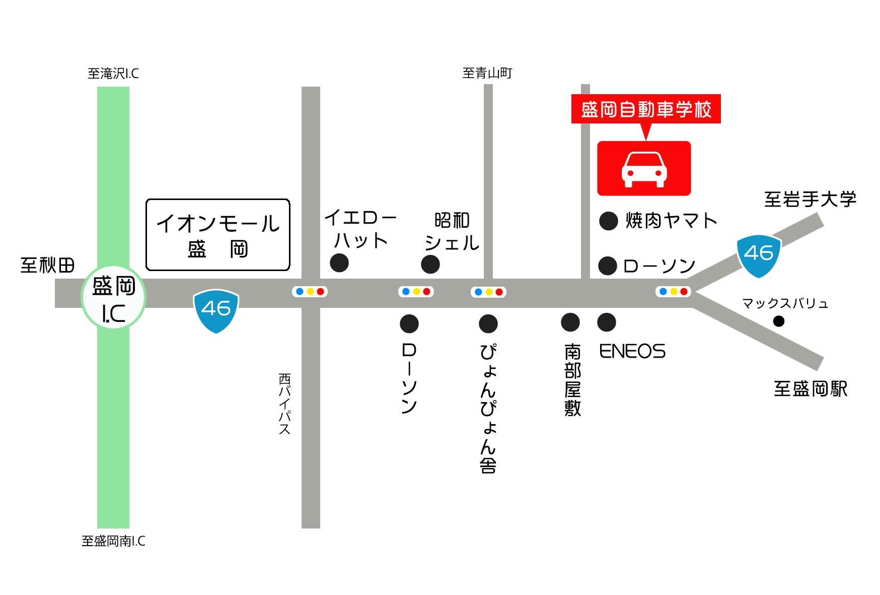 もりじ地図